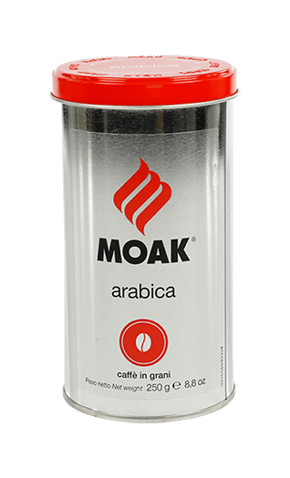 Moak Caffe Arabica Bohnen 250g Dose
