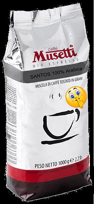Musetti Santos Bohnen 1kg