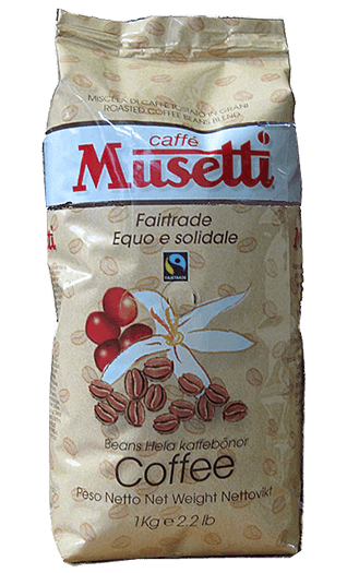 Musetti Fair Trade 1000g Bohnen