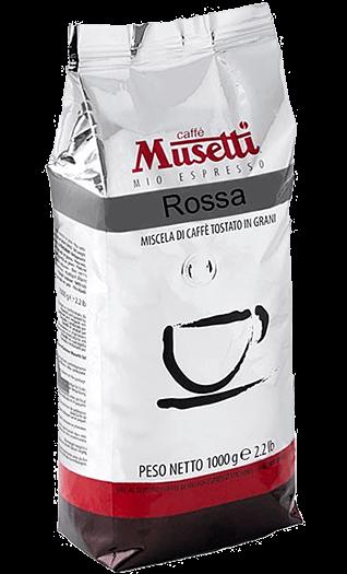 Musetti Caffe Miscela Rossa Bohnen 1kg