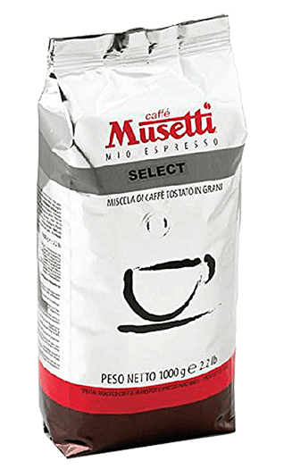 Musetti Caffe Select Bohnen 1kg