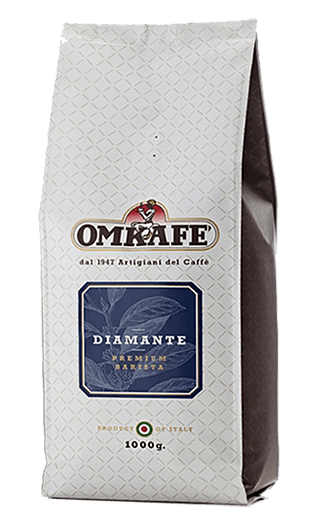 Omkafe Caffe Diamante Bohnen 1kg
