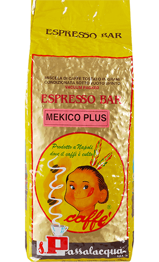 Passalacqua Caffe Mekico Plus Bohnen 1kg