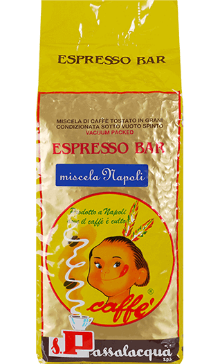 Passalacqua Kaffee Miscela Napoli Bohnen 1kg