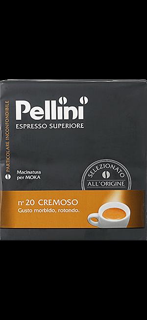Pellini N°20 Cremoso gemahlen 500g