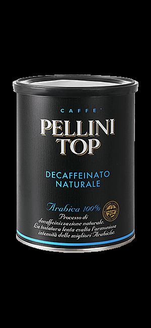 Pellini Top 100% Arabica Decaffeinato gemahlen 250g Dose