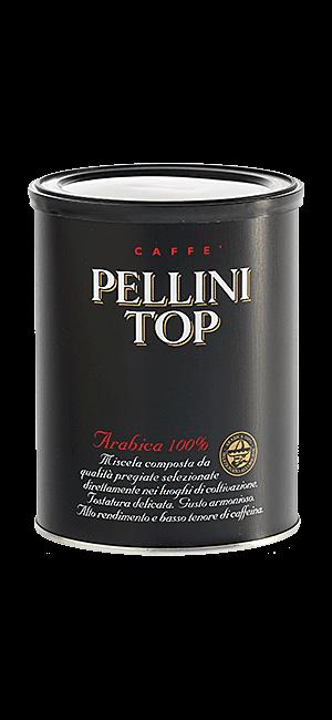 Pellini Top 100% Arabica gemahlen 250g Dose