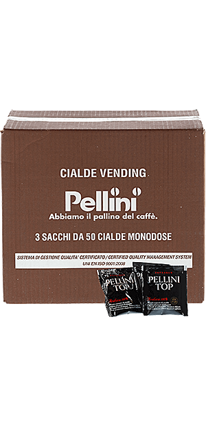 Pellini Top 100% Arabica 150 Pads