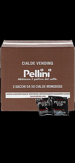 Pellini Top 100% Arabica Pads 150 Stück