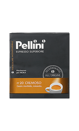 Pellini N°20 Cremoso ground 17.64oz