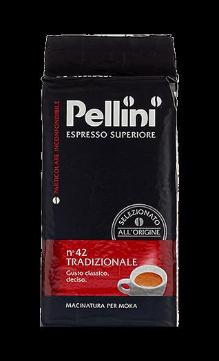 Pellini Caffe N°42 Tradizionale gemahlen 250g