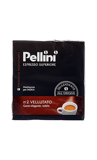 Pellini N°2 Vellutato ground 17.64oz