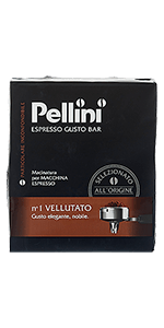 Pellini N°1 Vellutato ground 17.64oz