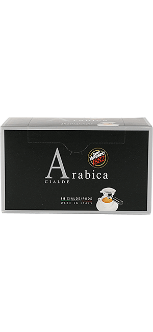 Vergnano 100% Arabica Pads 18 Stück
