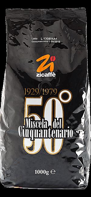 Zicaffe Cinquantenario 50° Bohnen 1kg